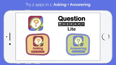 Question Therapy Lite: 2-in-1 screenshot one