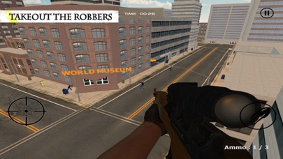 Sniper Shoot:Bank Robbers Gang screenshot three