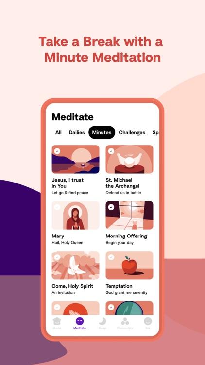 Hallow: Catholic Meditation screenshot-5