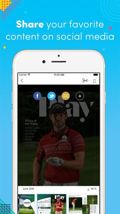 Golf Digest Thailand Magazine screenshot-3