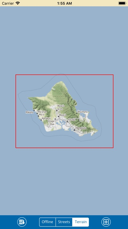 Oahu – Marine GPS Map