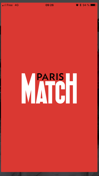 Paris Match Belgique screenshot one