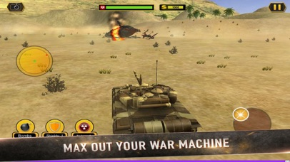 Real Battle Blitz: Tank 3D War screenshot 3