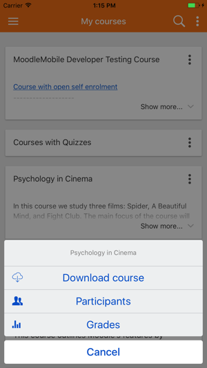 Moodle Classic on the App Store