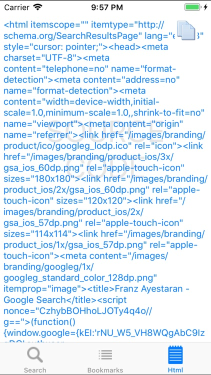 iWebSearch screenshot-3