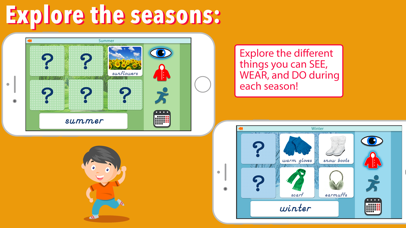 Montessori Seasons & Weather screenshot 3