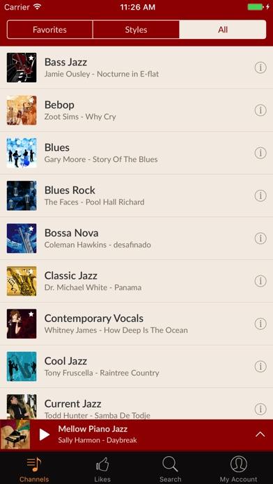 Jazz Radio!のスクリーンショット2