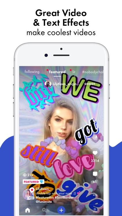 Funimate - Be Music Video Star screenshot-0