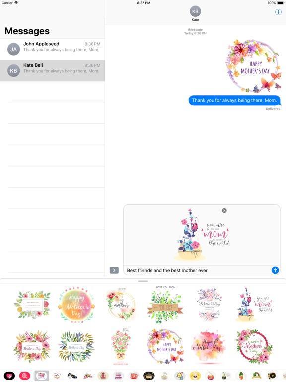 Watercolor Mother's Day Pack screenshot 7