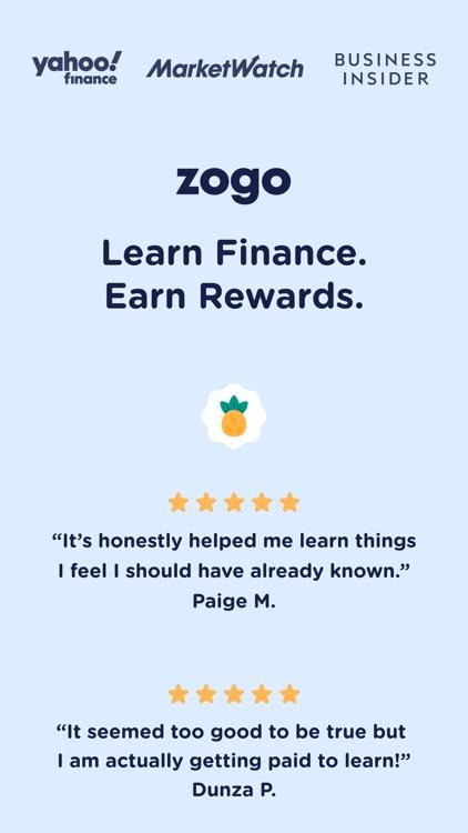 Zogo: Finance Simplified