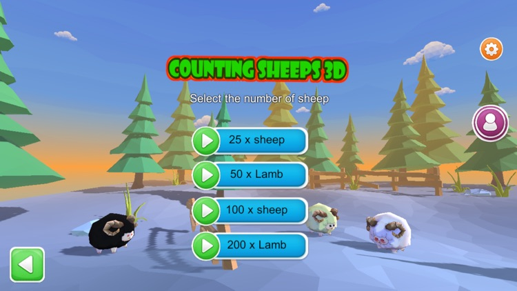 Counting sheep 3D