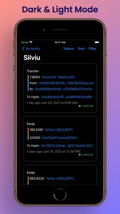 Ethereum Address Tracker screenshot-9