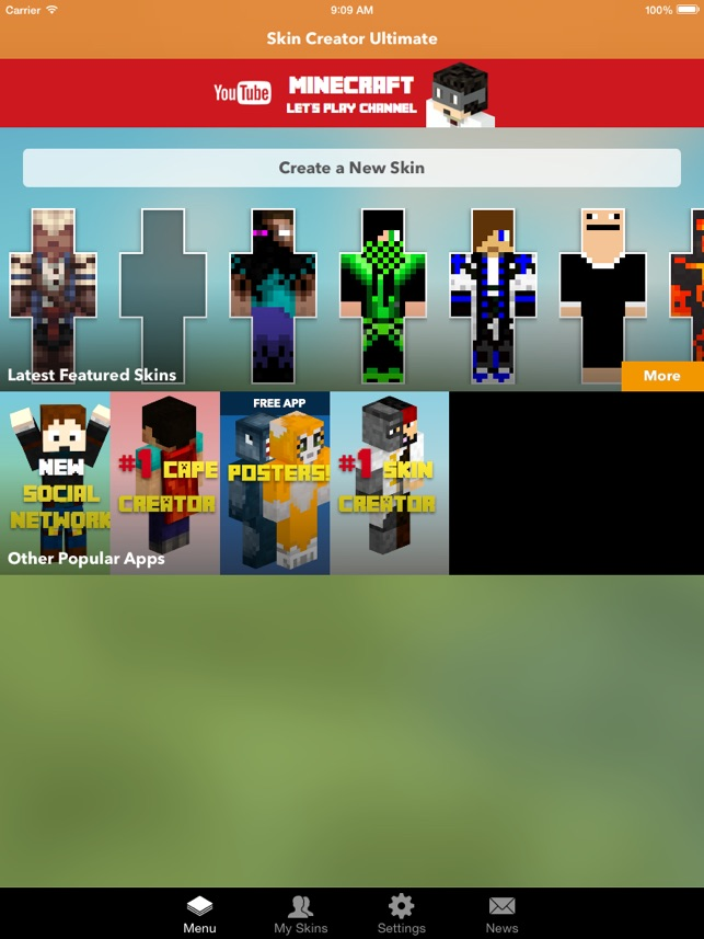 скачать custom skin creator for minecraft premium
