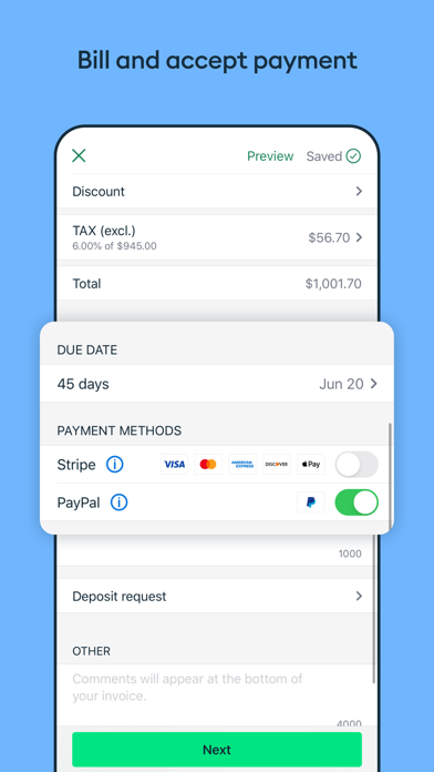 Invoice2go: Easy Invoice Maker Screenshot