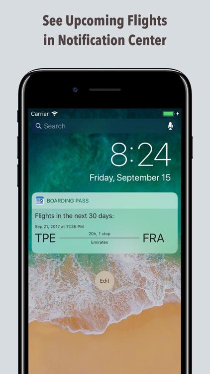 Boarding Pass - Flight Checkin screenshot-4