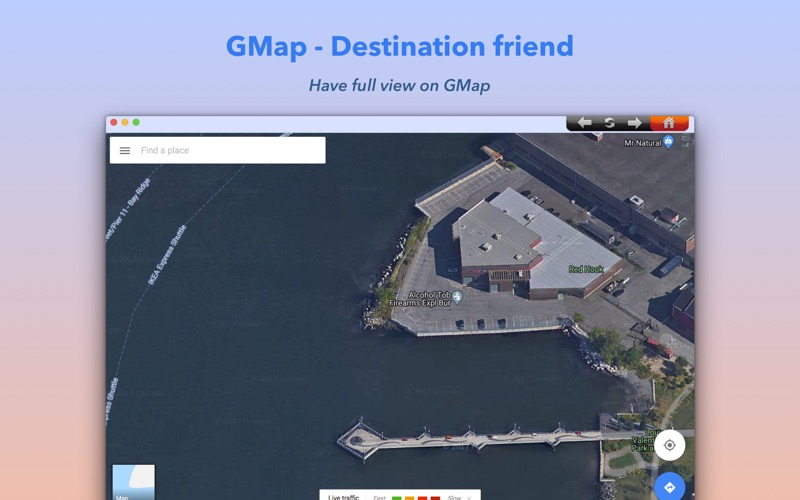 GMap Screenshot