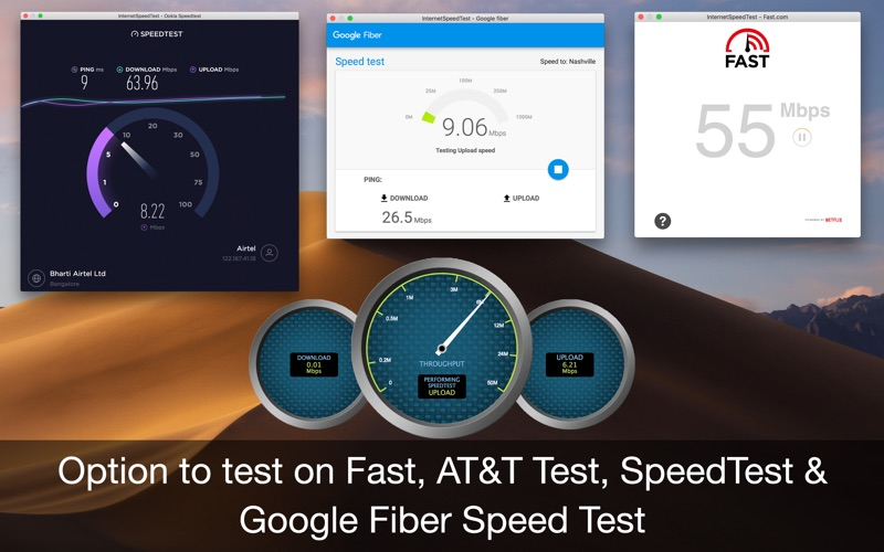 Internet Speed Test for Mac