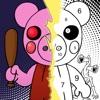 RoboxColor - Piggy Coloring - iPadアプリ