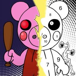 RoboxColor - Piggy Coloring