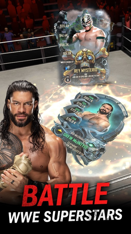 WWE SuperCard - Rule the Ring screenshot-0
