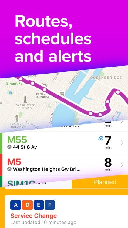 Whiz: Live Transit Times screenshot-3