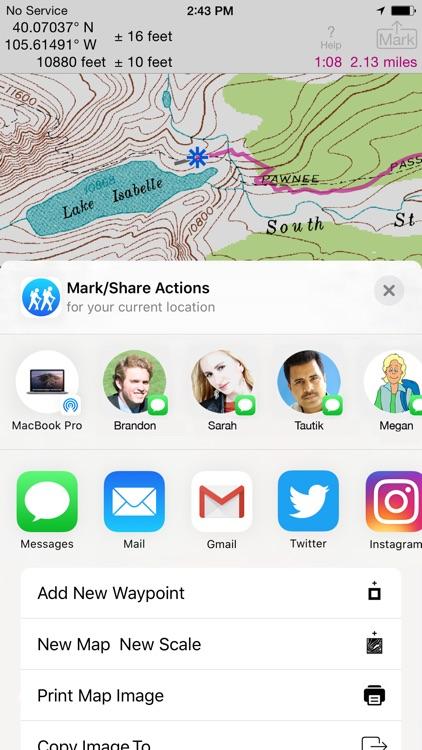 i Hike GPS : Topo Maps screenshot-5