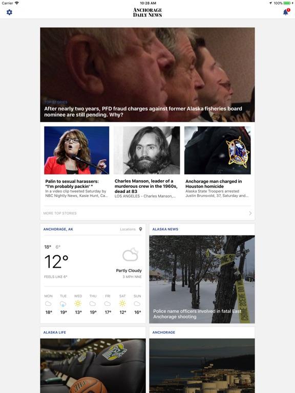 Anchorage Daily News - ADN iPad