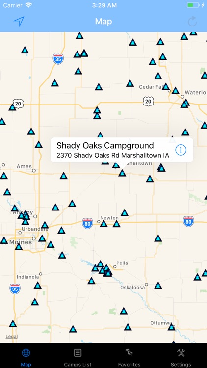 Iowa – Camping & RV spots screenshot-0