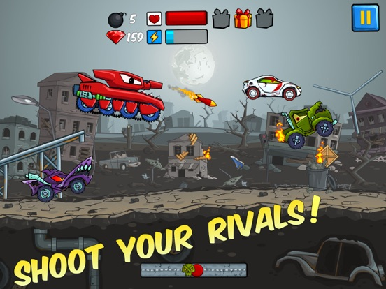 Скачать игру Car Eats Car - Apocalypse Race