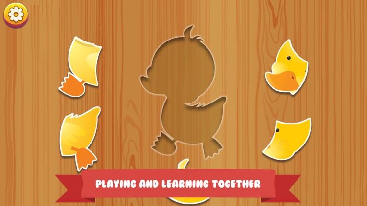 Baby Animal Jigsaw Puzzles screenshot-3