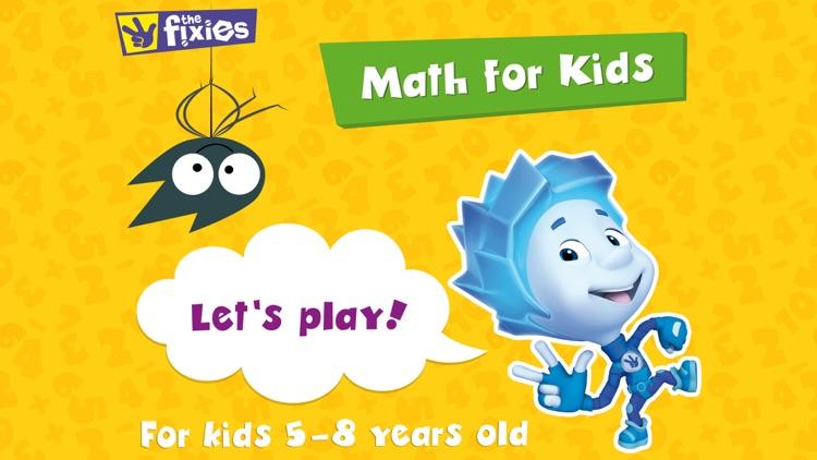 Fixies Math Games for Kids 4+ screenshot-8