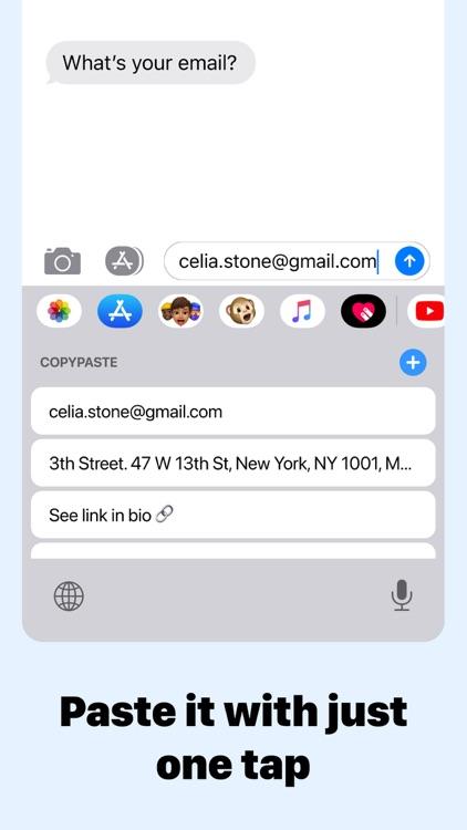 CopyPaste • Auto Keyboard screenshot-3