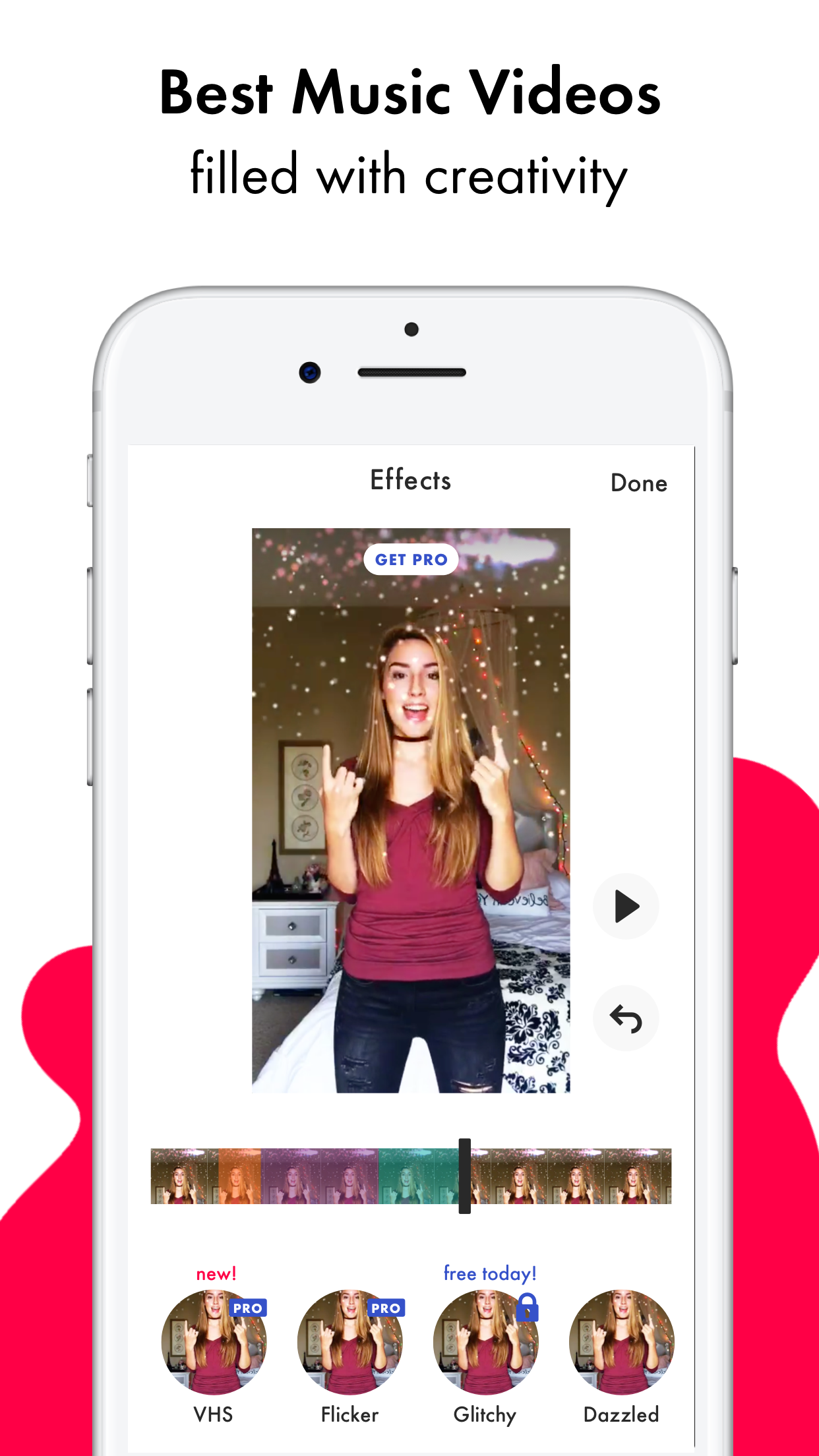 Funimate - Music Video Maker Screenshot