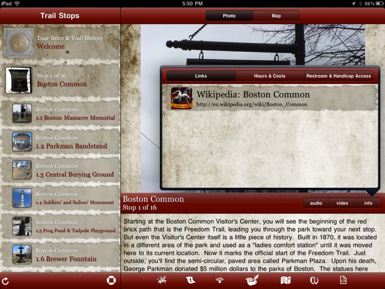 Tour Freedom Trail for iPad screenshot-3