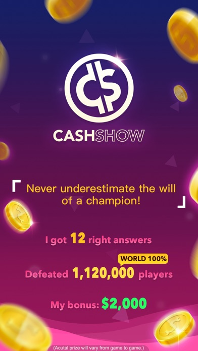 Cash Show - Win Real Cash! app image