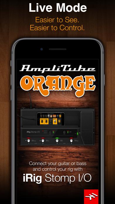 Screenshot #3 pour AmpliTube Orange