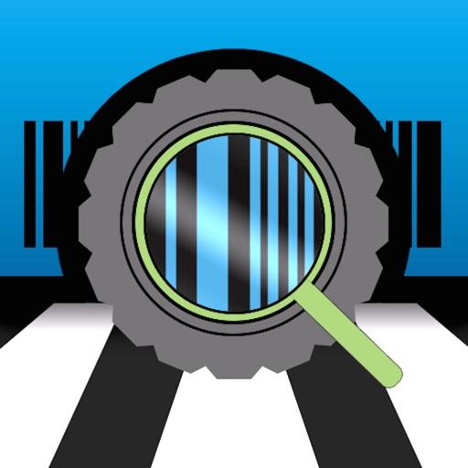 VIN checking description auto application logo