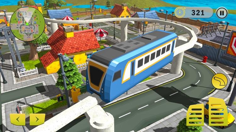 Elevated Train Builder 2018 screenshot-3