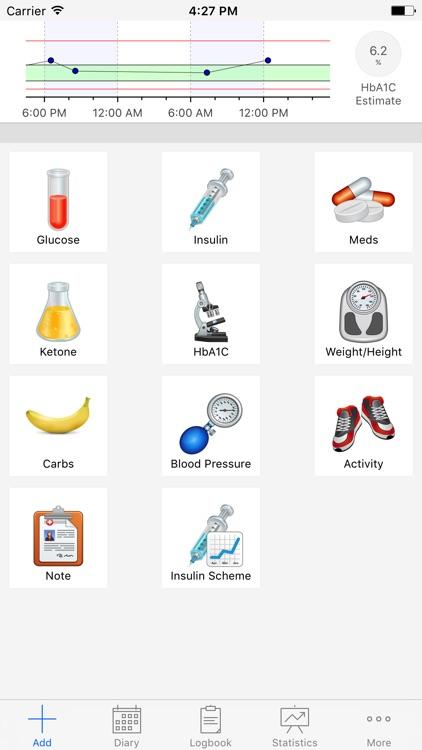 DiabetesPal screenshot-0