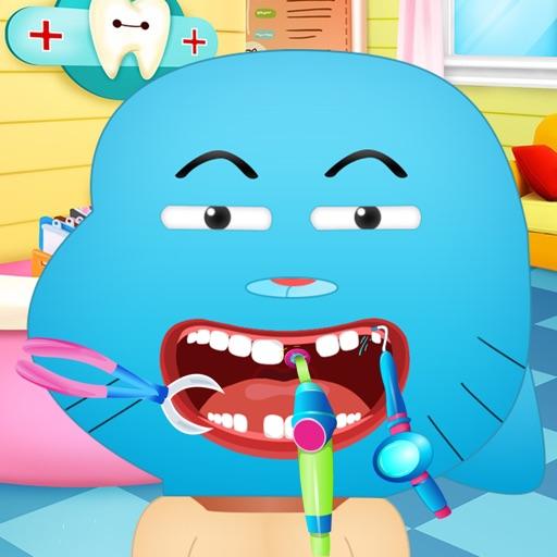 Bleu Cat Gumball Dentist iOS App