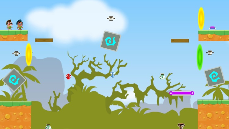 Hominid Brother-2 Player Games screenshot-3