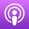 App Icon for Apple Podcasts App in United States IOS App Store