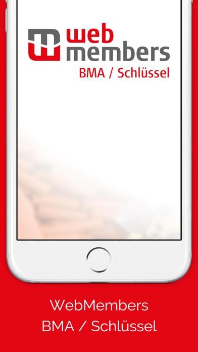 WebMembers BMA / Schlüssel screenshot one