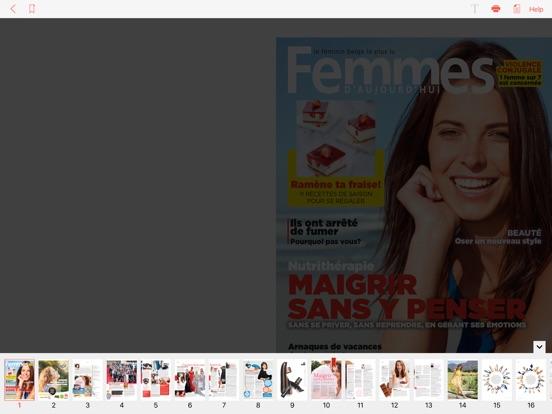 Image of Femmes d'Aujourd'hui for iPad