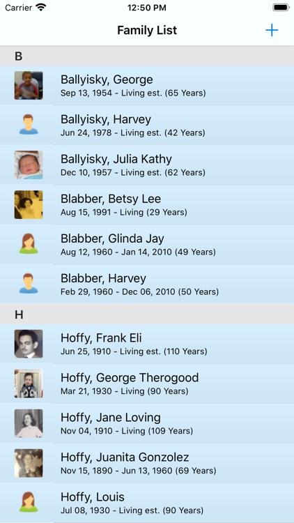 Genealogize screenshot-4