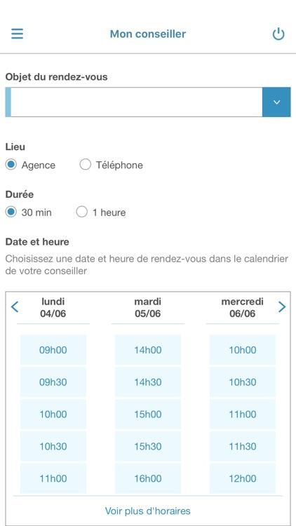 Banque Nuger pour iPhone