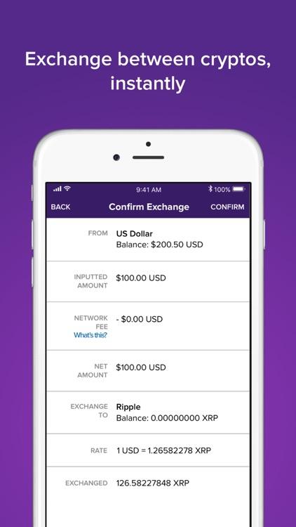 Abra: Bitcoin, Ripple, LTC screenshot-3