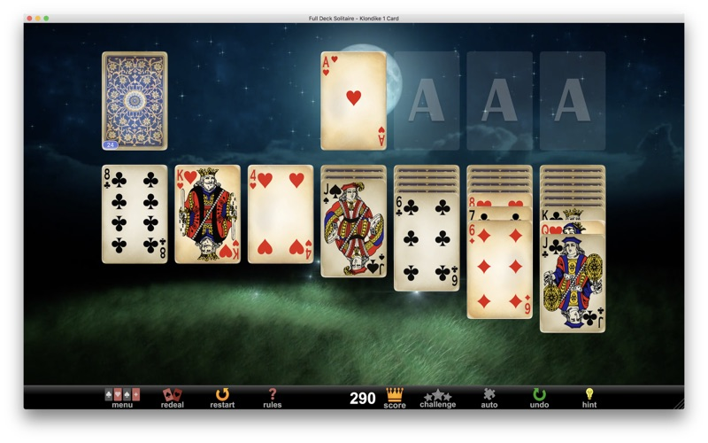 Full deck solitaire macgenius.