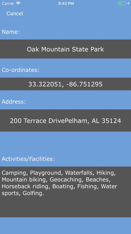 Alabama State Parks_ screenshot-1