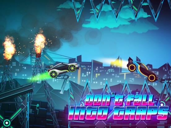 Скачать игру Neon Rider Drives Sports Car
